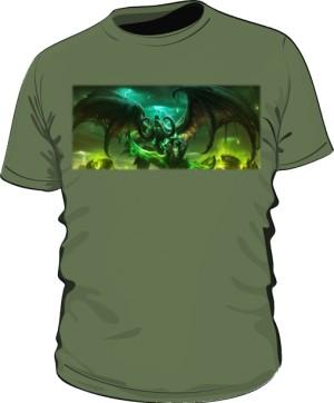 Koszulka męska khaki Legion