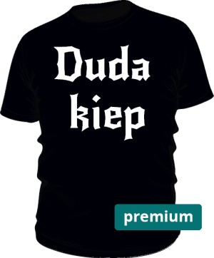 koszulka kiep czarna premium
