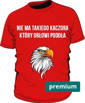 koszulka orzeł czerwona 2