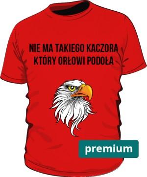 koszulka orzeł czerwona