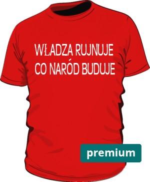 koszulka rujnuje czerwona 2