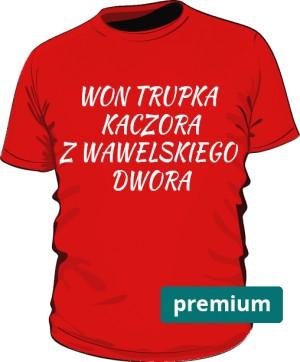 koszulka won czerwona 2