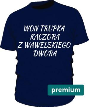koszulka won niebieska premium