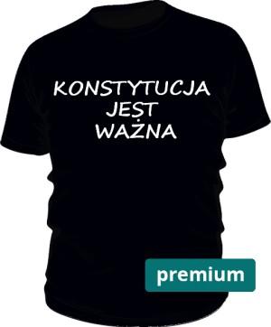 koszulka konstytucja czarna