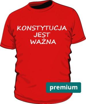 koszulka konstytucja czerwona 2
