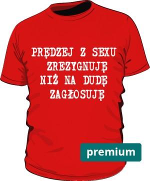 koszulka sex czerwona 2 premium