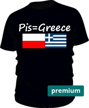 koszulka greece czarna