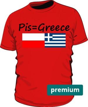 koszulka greece czerwona
