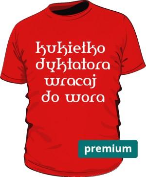 koszulka kukiełka czerwona 2 premium