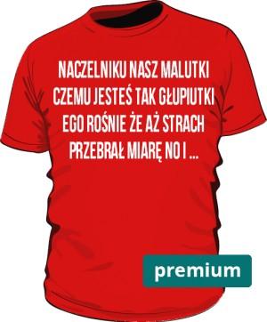 koszulka naczelnik czerwona 2