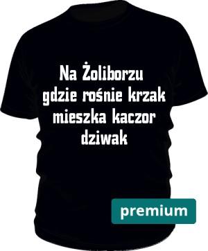 koszulka dziwak czarna