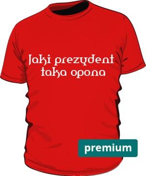 koszulka opona czerwona 2