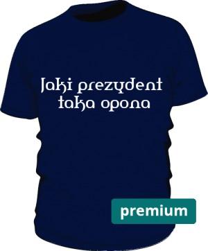 koszulka opona niebieska premium