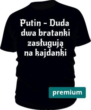 koszulka Putin czarna