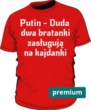koszulka Putin czerwona 2