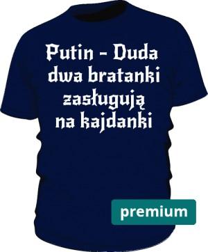 koszulka Putin niebieska