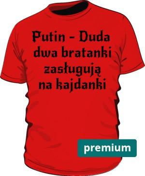 koszulka Putin czerwona premium