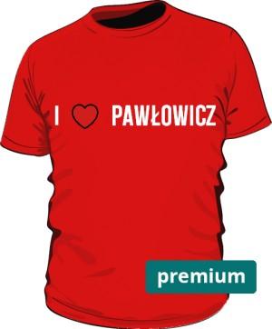 koszulka Pawłowicz czrwona 2