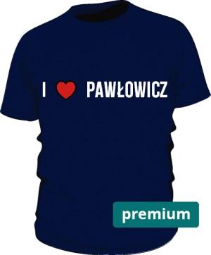 koszulka Pawłowicz niebieska premium
