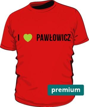 koszulka Pawłowicz czerwona premium