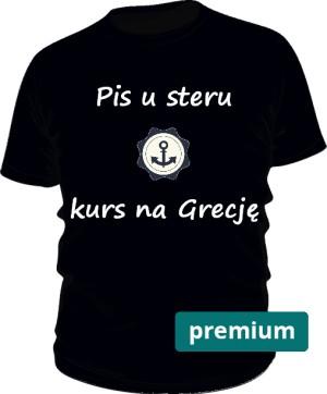 koszulka ster czarna premium