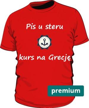 koszulka ster czerwona 2