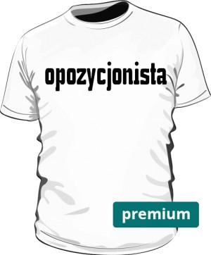 koszulka opozycjonista biała