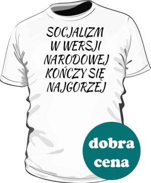 koszulka socjalizn biała