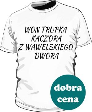 koszulka won biała