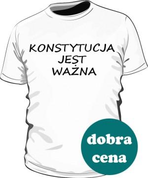 koszulka konstytucja biała