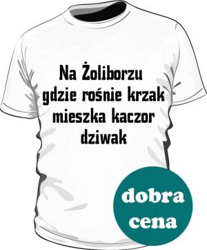 koszulka krzak biała