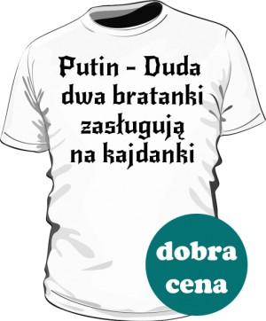 koszulka Putin biała