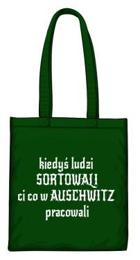 torba sortowanie zielona