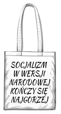 torba socjalizm biała