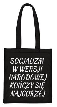 torba socjalizm czarna