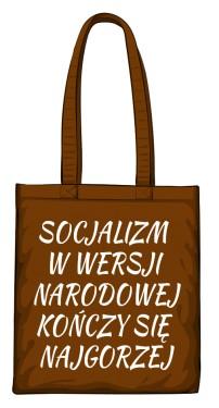 torba socjalizm brązowa