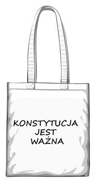 torba konstytucja biała