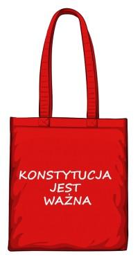 torba konstytucja czerwona