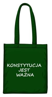 torba konstytucja zielona