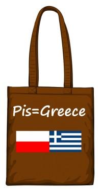 torba greece brązowa