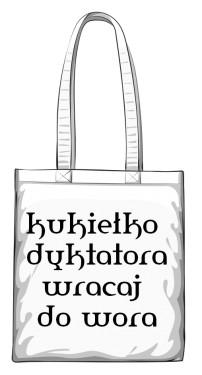torba kukiełka biała