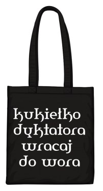 torba kukiełka czarna