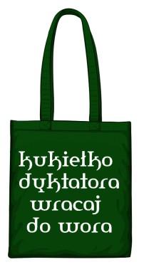 torba kukiełka zielona