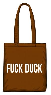torba duck brązowa