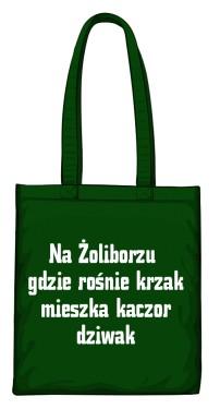 torba krzak zielona