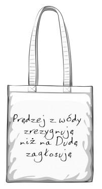 torba wóda biała
