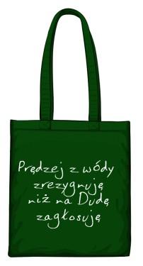 torba wóda zielona