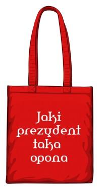 torba opona czerwona