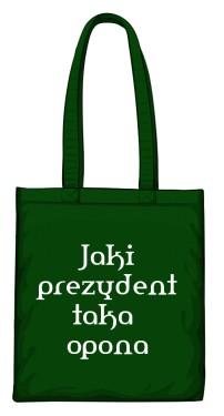 torba opona zielona