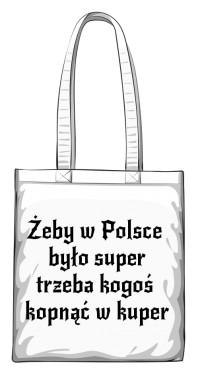 torba kuper biała